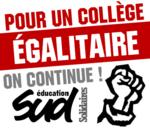 Réforme du collège, la lutte continue !