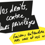 """Campagne unitaire """"Nos droits contre leurs privilèges"""""""