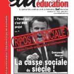 Sud éducation - le journal n°72 - mai/juin 2017