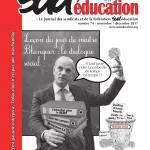 Sud éducation – le journal n°74 – novembre/décembre 2017