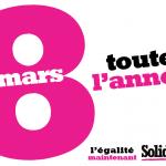 8 mars: Grève contre les oppressions faites aux femmes