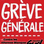 Réformes Blanquer, justice sociale : grève massive le 14 décembre