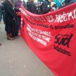 Rassemblement pour les droits des AESH: la lutte continue!