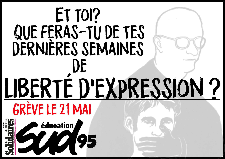 21 mai : appel à la grève de SUD Éducation et de la CGT Éduc'action