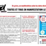 Le Panneau Syndical SUD éducation #75 • Mi-mai 2019