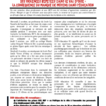 Des violences répétées dans le Val d'Oise: La conséquence du manque de moyens dans l'éducation