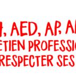 AESH, AED, AP, APS - entretien professionnel, faire respecter ses droits