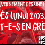 49-3: Dès lundi 2/03: tou-te-s en grève!