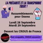 À Montpellier comme ailleurs, la précarité et la transphobie tuent